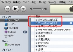 iTunesでエンコード変換をすると同じ曲が2つできます