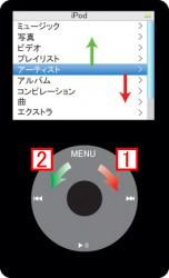 iPodの基本操作