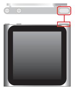 iPod nano 第6世代:トラブル時にスリープモードが解除できるか確認