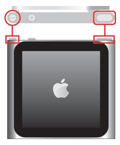 iPod nanoを再起動する