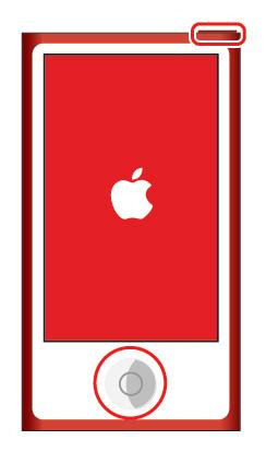 iPod nano 第7世代 強制終了して再起動