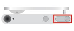 iPod shuffle 第4世代 の電源オンオフ