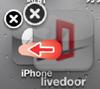 iPod touch Webクリップをフォルダにまとめる